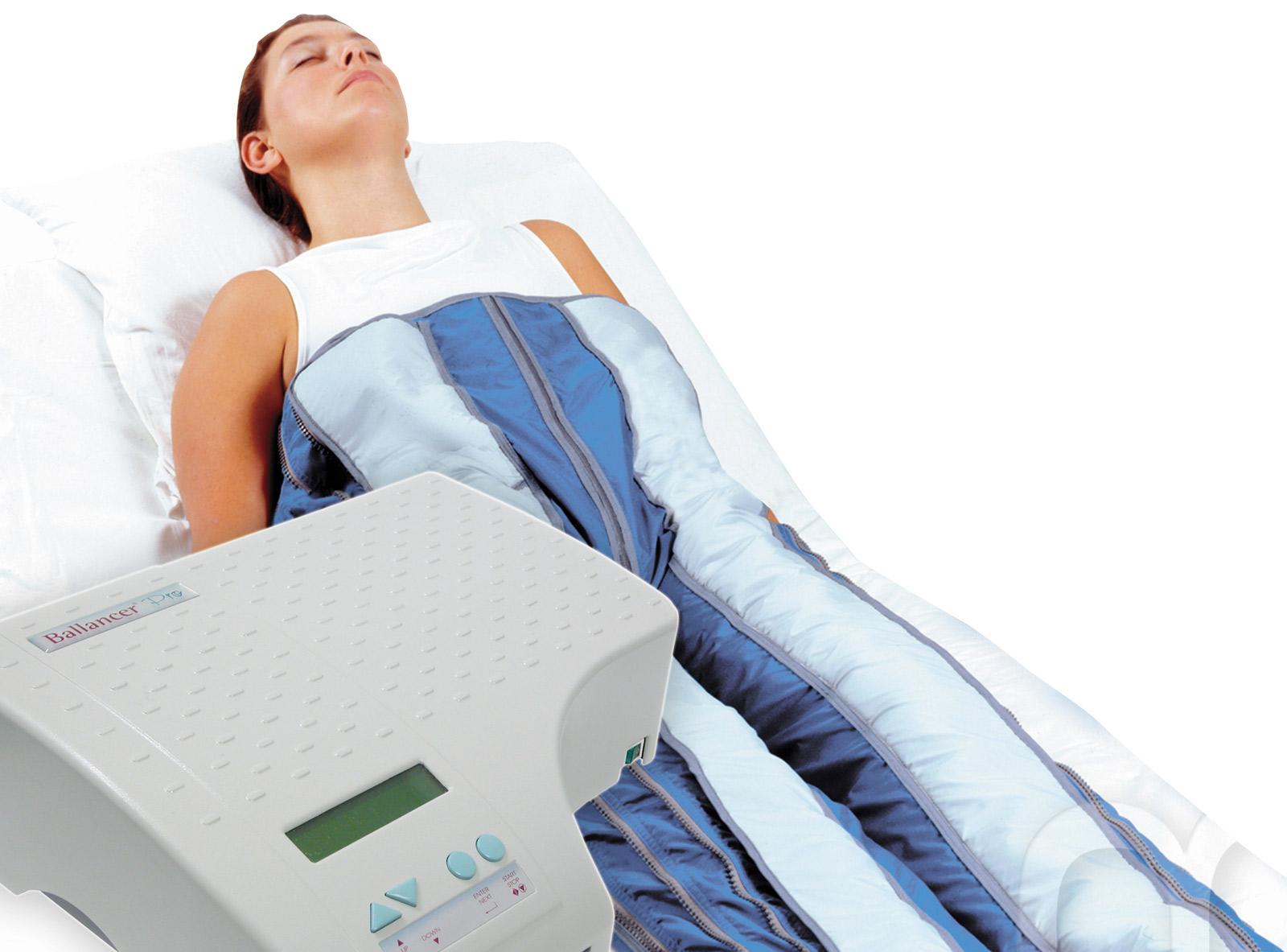 Presoterapia, drenaje linfático y activación muscular