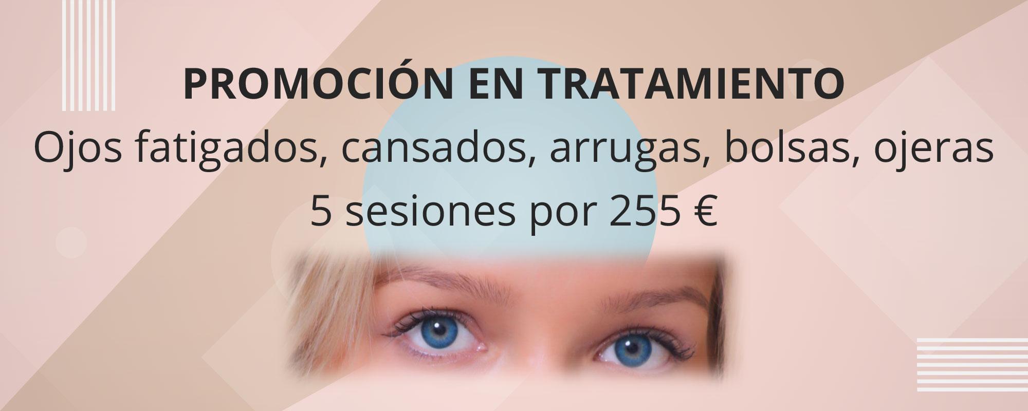 Promoción en tratamiento de ojos